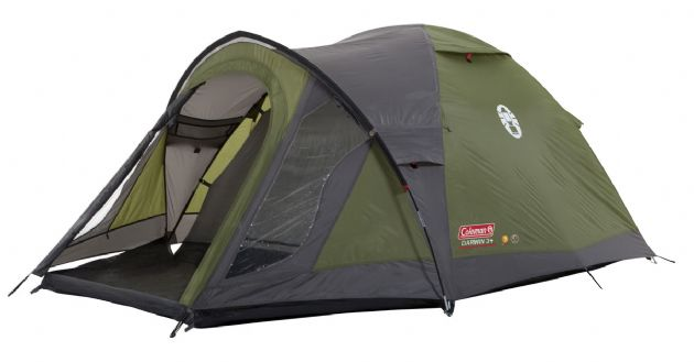 Coleman Darwin 3 Plus Camping Tent, 2 - 4 People tent, Outdoor Camping Tent  - Grasshopper Leisure